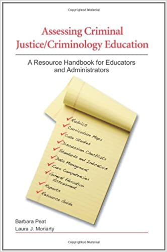 Assessing Criminal Justice Criminology Education A Resource