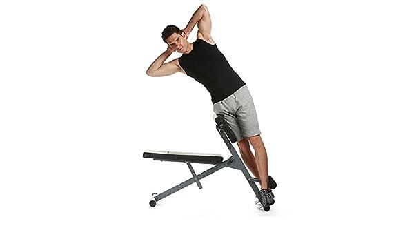 Ajustable AB banco de espalda Hyperextension ejercicio Abdominal ...