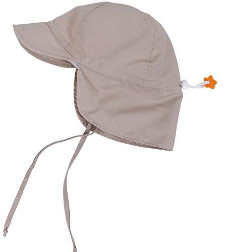 6614cd86fdd9 SimpliKids UPF 50+ UV Ray Sun Protection Baby Hat w  Neck Flap   Drawstring
