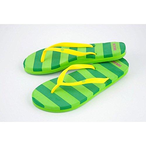 Damen Flip Flops grün/hellgrün Gr. 7 irbsWLwec