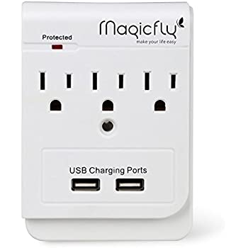 Newer Technology Power2U AC Wall Outlet with USB Charging Ports ...