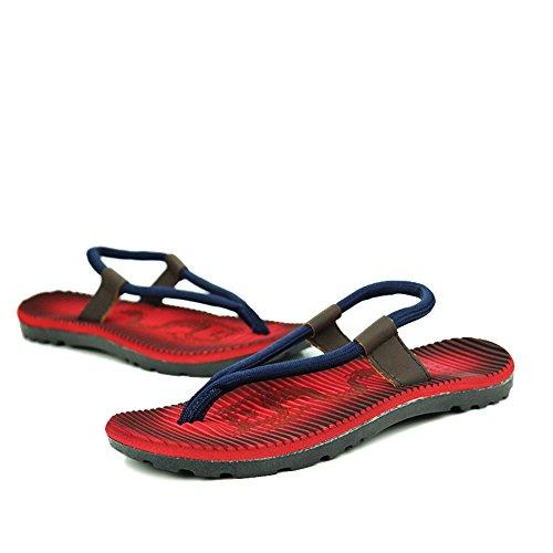 Aire Pie Sandalias Interiores Hombres Ocasionales Para Al Deportes Del Libre Dedo Red Convenientes Y Los Zapatos Ocio De Cómodos qH0qa1w