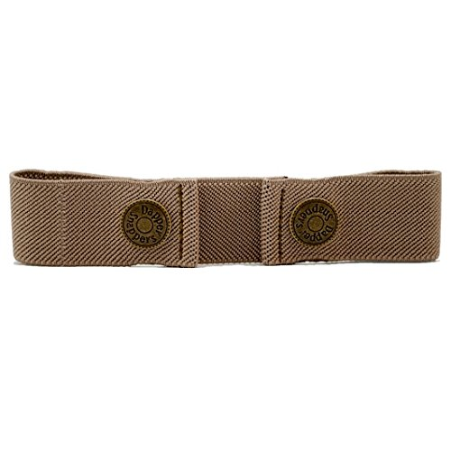 Adjustable Belt for Toddlers and Babies - Dapper Snappers Toddler Belt - Tan