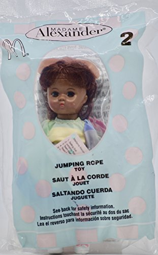 2005 - McDonald's/Madame Alexander - Jumping Rope Doll #2 - African American Girl - w/Jump Rope - 5 inches - Collectible