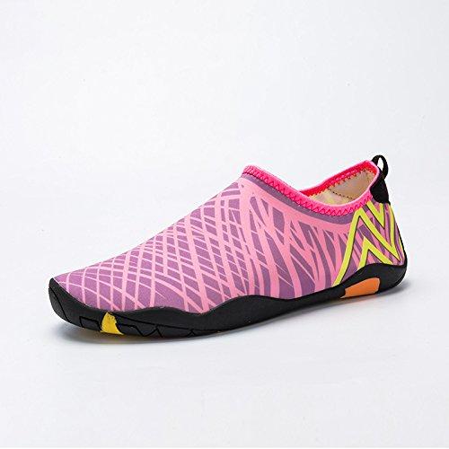 Beach - Schuhe Sind Einfach Zu Absorbieren Wasser Schwimmen, Schuhe, Outdoor - Schuhe, Farbe: Weiß, Schwarz, Blau, Grün, Pink, Tarnung,Pink,Eu43,