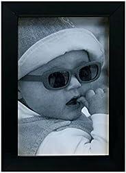 Porta Retrato Para Foto Kapos Preto 15 x 20 cm