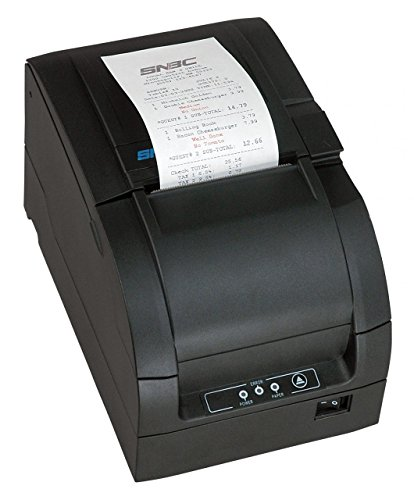 SNBC BTP-M300 Impact Ethernet POS Receipt Printer Auto-Cut Black 132081-E