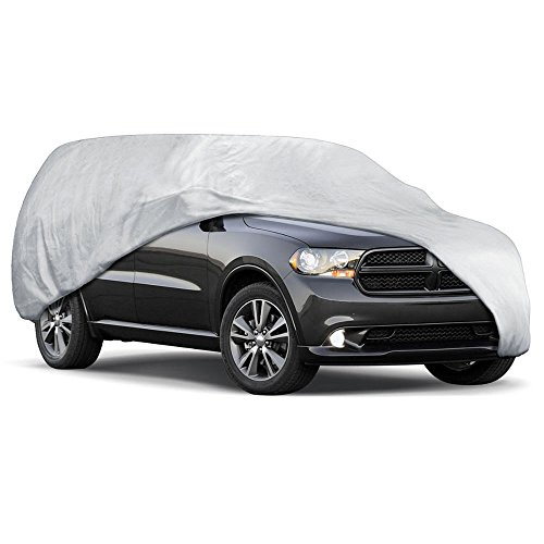 Motor Trend All Season WeatherWear 1-Poly Layer Snow Proof, Water Resistant Car Cover Size XL1 - Fits up to 210""