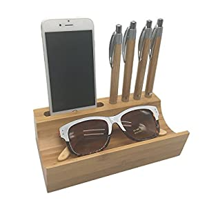 Mini Desk Top Organizer, Ideal for pens, smartphone, eyeglasses or sunglasses, Quickly get to them when you need them