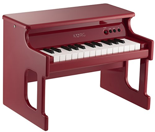 Korg tinyPiano Digital Toy Piano - Red by Korg (Image #2)