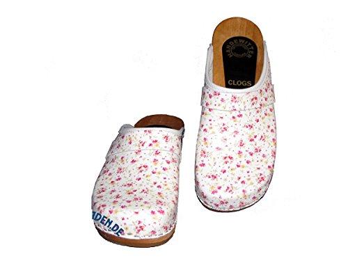 Handewitter Clogs Women's Clogs Multicolour mini blumen 2.5 c650BonLCt