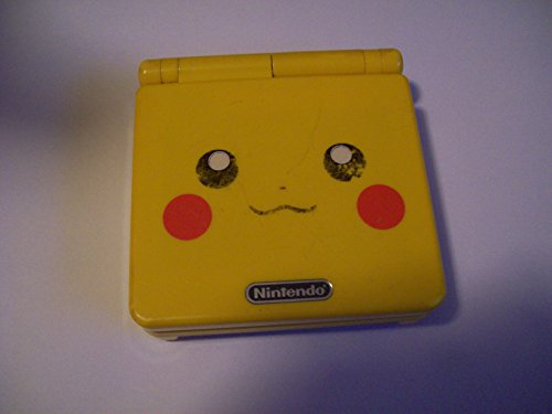 Nintendo Gameboy Advance SP: Limited Edition Pikachu Yellow (Special Pikachu Edition)
