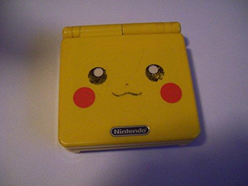 (Nintendo Gameboy Advance SP: Limited Edition Pikachu)