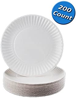 Nicole Home Collection 200 Count Everyday Dinnerware Paper Plate 9-Inch White  sc 1 st  Amazon.com & Amazon.com: Perfect Stix Paper Plate 6-300 6 Paper Plates White ...