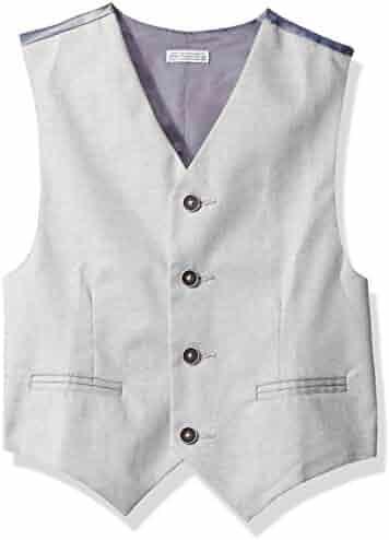 Calvin Klein Big Boys' Tick Weave Vest