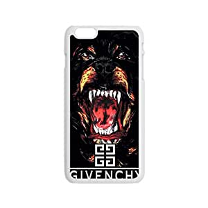Givemchy White iPhone plus 6 case