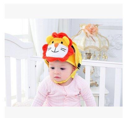 Casco protector de cabeza de bebé, Cojín transpirable de protección de cabeza de seguridad con