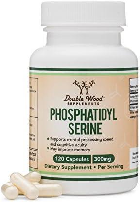 PhosphatidylSerine Phosphatidyl Double Wood Supplements product image
