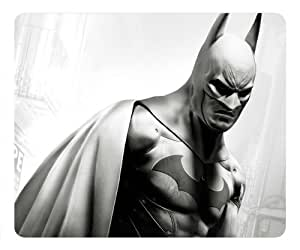 Grey Batman Rectangle Mouse Pad by eeMuse