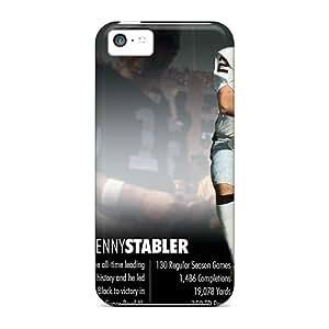 New Premium Flip Cases Covers Oakland Raiders Skin Cases For Iphone 5c