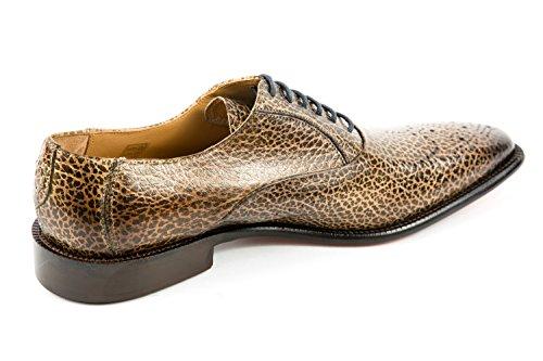 Melvin & Hamilton MH15-727, Chaussures de Ville à Lacets pour Homme Marron Marron 41 EU
