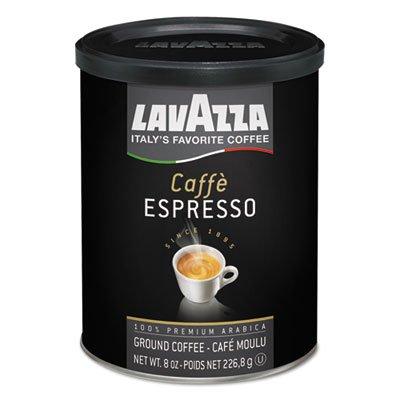 Caffe Espresso Ground Coffee, Dark Roast, 8 oz Can