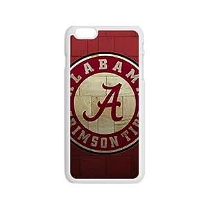 Alabama Grimson Tide Fashion Comstom Plastic case cover For Iphone 6