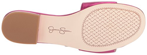 Jessica Simpson Slide Sandal Lux De Magenta Crizma Des Femmes