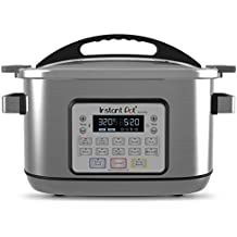 Instant Pot 8 Qt Aura Pro Multi-Use Programmable Multicooker with Sous Vide, Silver