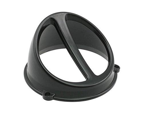 L/üfterspoiler Air Scoop schwarz universal