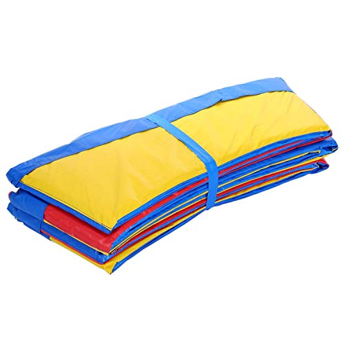 ANCHEER 15 14 12 10 Ft Replacement Trampoline Surround PVC Pad Foam Safety Spring Cover Padding Pads (Rainbow, 10ft) by ANCHEER (Image #4)