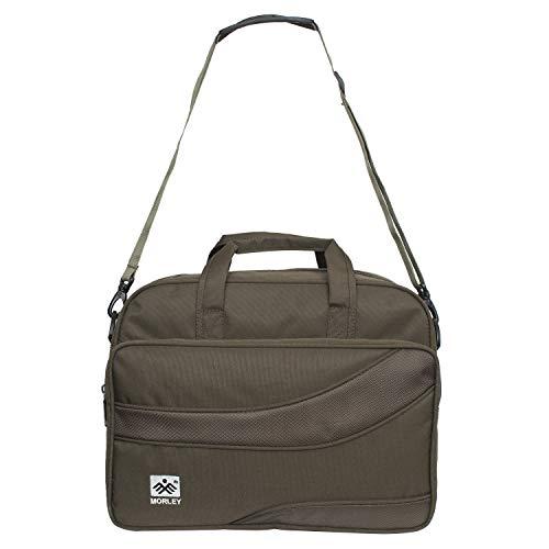 Morley Polyster 16 inches Laptop Messenger Bag | Laptop Bag | Office Bags | Sleeve Case Unisex  Green