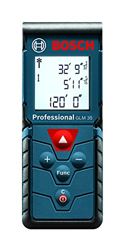 Bosch Compact Laser Distance Measure, 120-Feet GLM 35