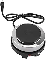 Mini Stove, 500W Portable Electric Mini Stove Hot Plate Multifunction Home Heater(US Plug 110V)