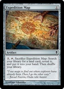 Magic: the Gathering - Expedition Map (201) - Zendikar for sale  Delivered anywhere in Canada