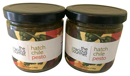The Gracious Gourmet Hatch Chile Pesto, 14 oz