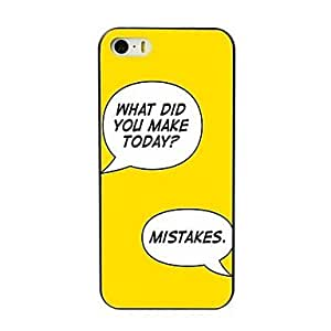 WQQ Make Mistakes Design Hard Case for iPhone 4/4S