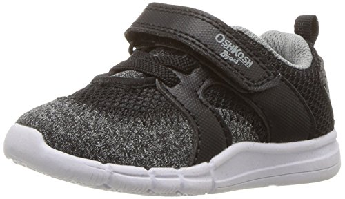 Toddler Pink Combo Footwear - OshKosh B'Gosh Boys' Public Athletic Sneaker, Black, 12 M US Little Kid