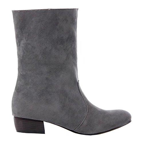 AIYOUMEI Grey Damen Damen Damen Boot Grey Classic AIYOUMEI Boot Grey Boot AIYOUMEI Classic Classic xOw6qZXO