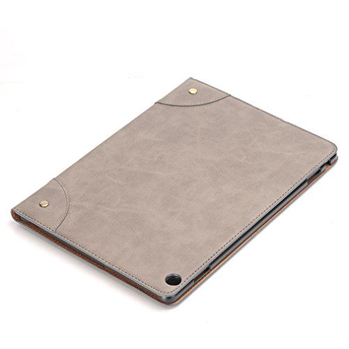 Auto Magnetic Huawei Folding Case Closure Sleep 1 Ultra Wake Leather LMFULM 10 for Crocodile Grain of Thin Card M3 Leather PU MediaPad 10 Lite Bookstyle Business Inch Slot Gray 1 Stent Cover Function and wS6dxaqE6
