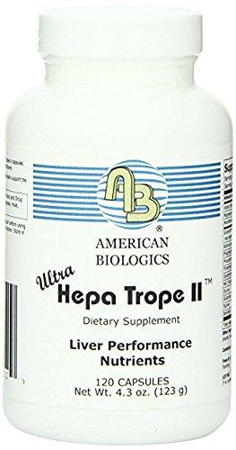 American Biologics - Ultra Hepa Trope II 120 Capsules