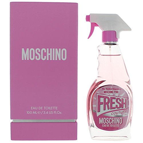 Moschino Fresh Pink For Women Eau de Toilette Spray 3.4oz / 100ml Launched in 2017