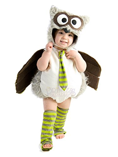Sleeveless Costumes (Princess Paradise Baby's Edward The Owl Deluxe Costume, As Shown, 12 to 18 months)
