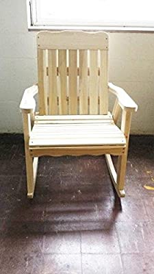 Pressure Treated Pine Designs Vertical Slat Rocker Amish Made In the USA