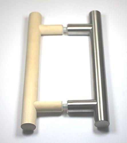 Sauna 25-50cm Sto/ßgriff f/ür Sauna//SPA//Nassbereich Typ 1 - Griffpaar f/ür Glast/üren, L/änge: 35cm MLS T/ürgriff SerieNatura 04