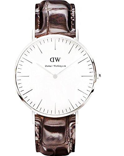 9ca0f124d607dc Amazon.com: Daniel Wellington Men's 0211DW York Analog Display Quartz Brown  Watch: Daniel Wellington: Watches