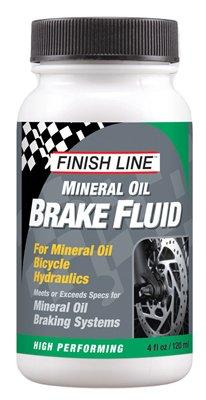 Finish Line High Performance Mineral Oil Brake Fluid, 4-Ounce