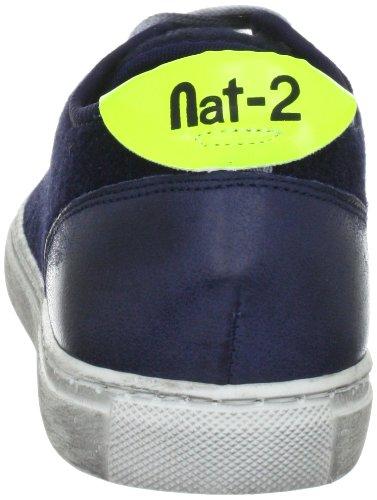 Nat WANTED Herren Sneakers LOW Fashion Navy Blau 2 aCWz8