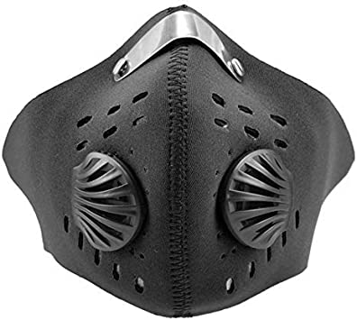 TPO Máscara Facial PM2.5 de protección Antipolvo para Ciclismo, Ciclismo, Ciclismo, Senderismo, esquí, Resistente al Viento