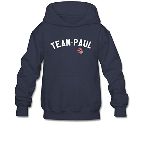 iCoup Aliensee Youth Team Paul Boxing Glove Hoodie Sweatshirt Suitable for 10-15yr Old L Navy